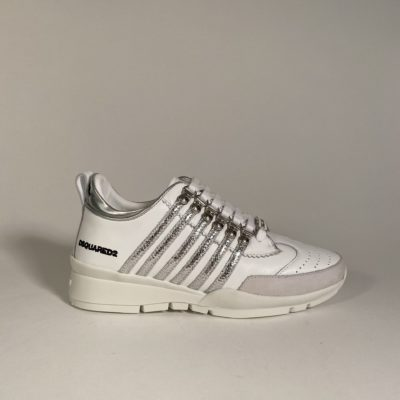 sneakers dsquared silver